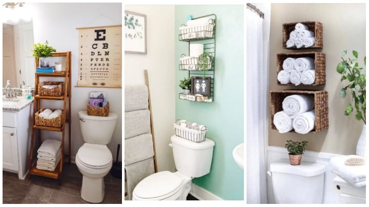 Most Creative Bathroom Storage Ideas, Creative Bathroom Storage