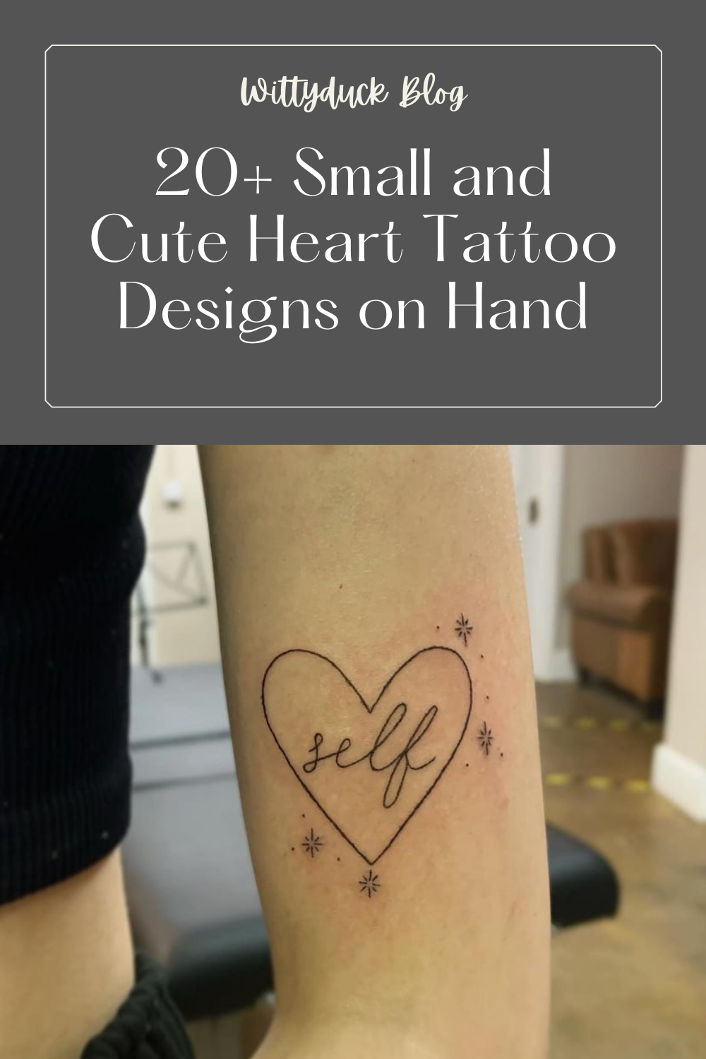 20+ Small and Cute Heart Tattoo Designs on Hand   Wittyduck